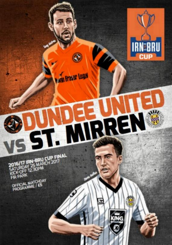 2017 SCOTTISH CHALLENGE CUP FINAL - DUNDEE UNITED v ST MIRREN